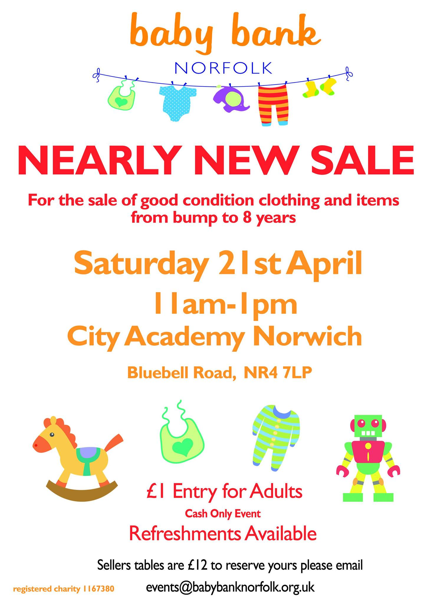 We're having a spring nearly new sale!